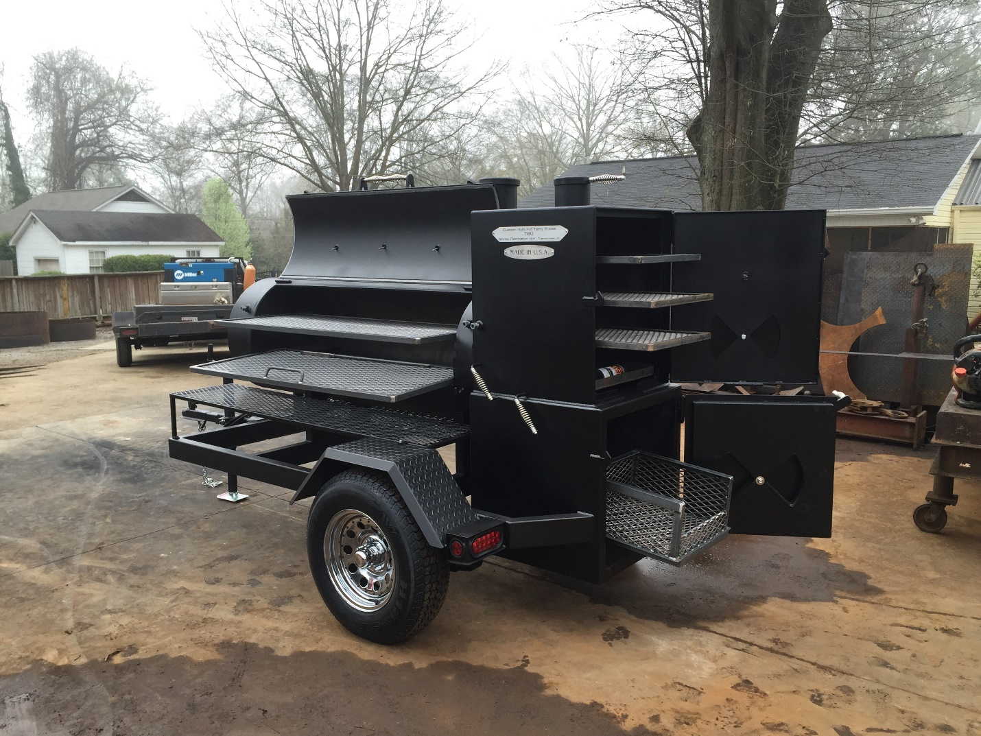24 Quot X65 Quot 4 Wide Trailer Shirley Fabrication